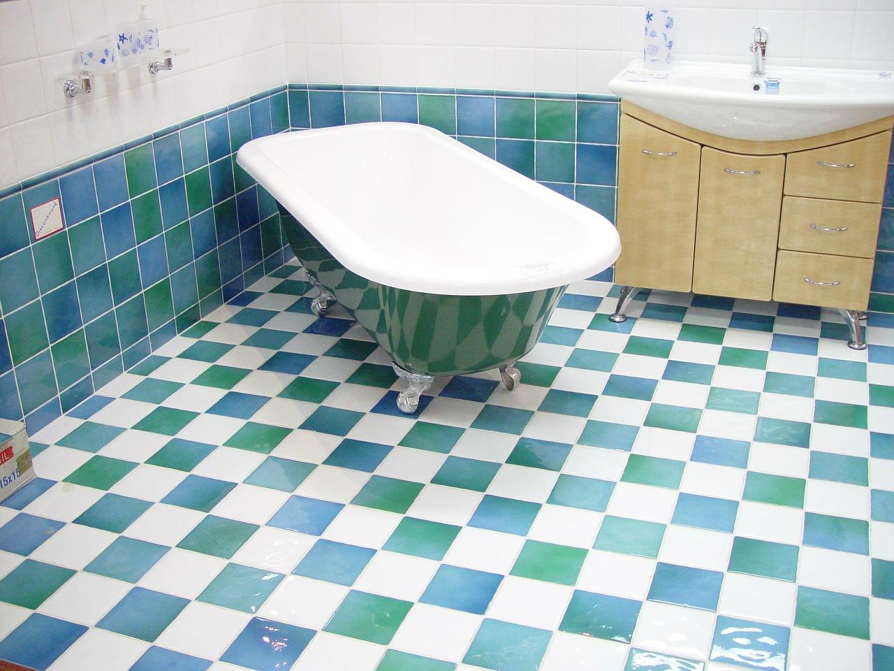 Installation d'une salle de bain